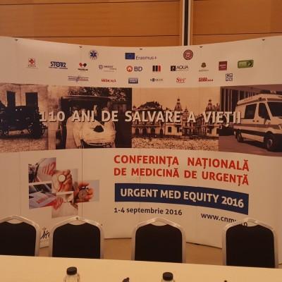 """CONFERINTA NATIONALA DE MEDICINA DE URGENTA """"URGENT MED EQUITY"""" 2016 Copy"""